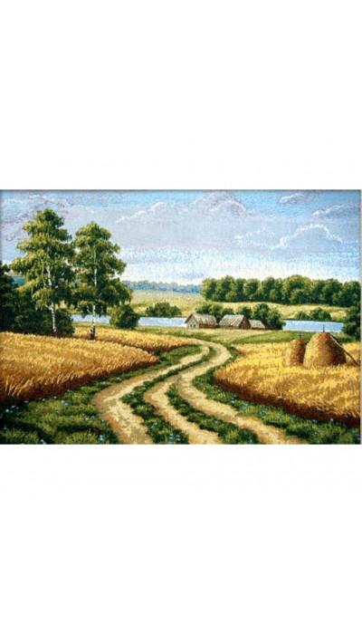 """Картина """"Август"""" (гобелен).Размер:53х77 см"""
