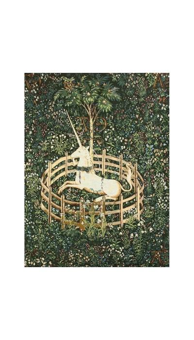 Панно Единорог пойман (гобелен).Размер: 115х155см