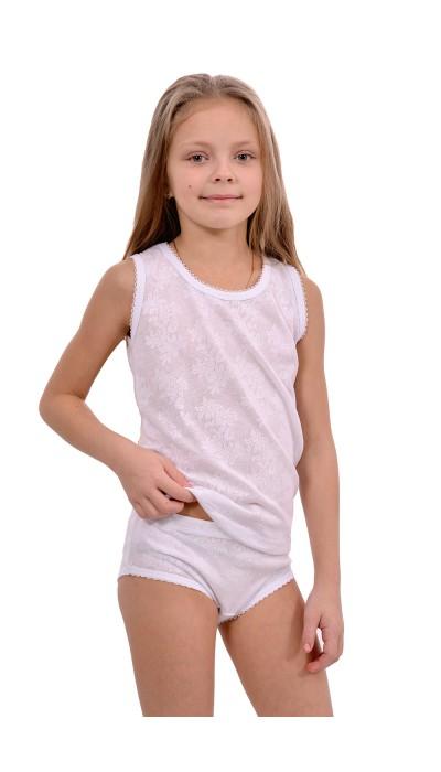 """Комплект нижнего белья для девочки """"Ажур"""""""