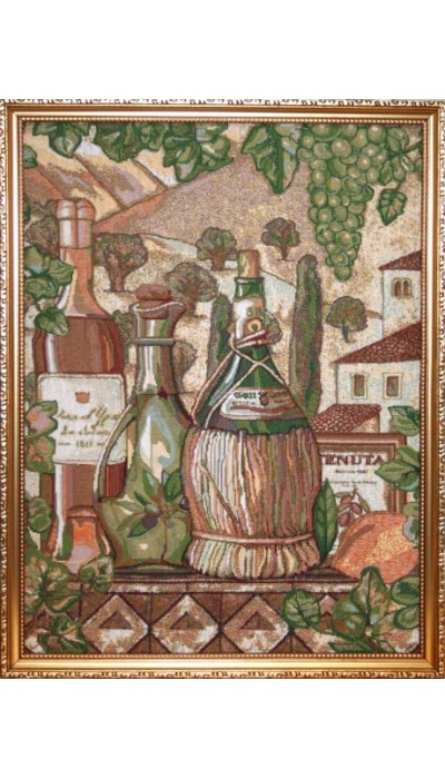 """Картина """"Тоскана"""" (гобелен). Размер:40х51 см"""