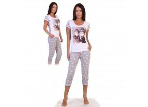 Пижамы с бриджами