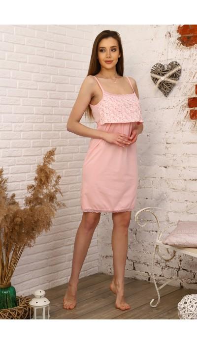Сорочка 31006 персик